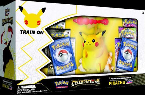Pokemon Celebrations Premium Figure Collection Pikachu VMAX Box