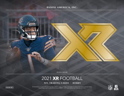 2021 Panini XR Football Hobby 14 Box Case