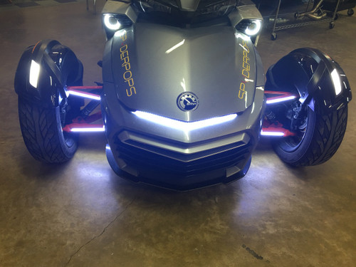 """SUPER BRIGHT """"SPYCLOPS"""" LIGHT WITH DOUBLE LEDS FOR ALL F3 MODELS"""