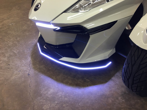 """CAN AM SPYDER RT LED BumpSkidTM """"NEW"""" NEXT GEN WITH PROTECTED LED's FITS ALL MODELS WITH NEW OPTIONS BELOW FOR THE 2019"""