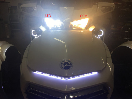 F3 - 2015 TO CURRENT ULTRA BRIGHT LED HEADLIGHTS