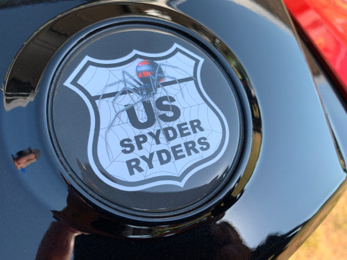 CAN AM 2014-UP RT & 2016-UP F3T US SPYDER RYDER 3-PIECE LOGO KIT INCLUDES HOOD/TRUNK-COVER/CLUSTER