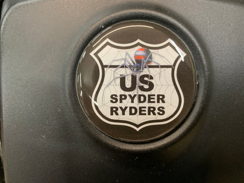 CAN AM RYKER - ALL MODELS - US SPYDER RYDERS 3-PIECE DOMED LOGO KIT INCLUDES HOOD/CLUSTER/REAR FENDER TO SUPPORT THE ROAD WARRIOR FOUNDATION