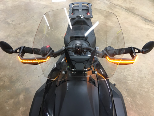 RYKER-OPTICS RALLY BRUSH GUARD RUN/TURN STAYON AMBER SIGNALS (ADD-ON KIT) IF YOU ALREADY HAVE A COMPLETE RYKER-OPTICS KIT SUCH AS THE HOOD LIGHTS WITH SIGNALS OR RED/RUN/TURNS. PLUG/PLAY! (SPY388)