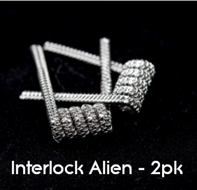 Pre-Built Interlock Alien Coils (2pk)