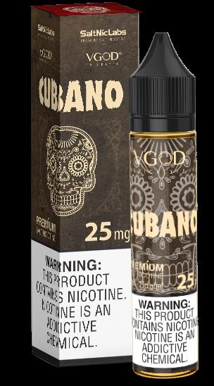 VGOD - Cubano Salts - 30ml