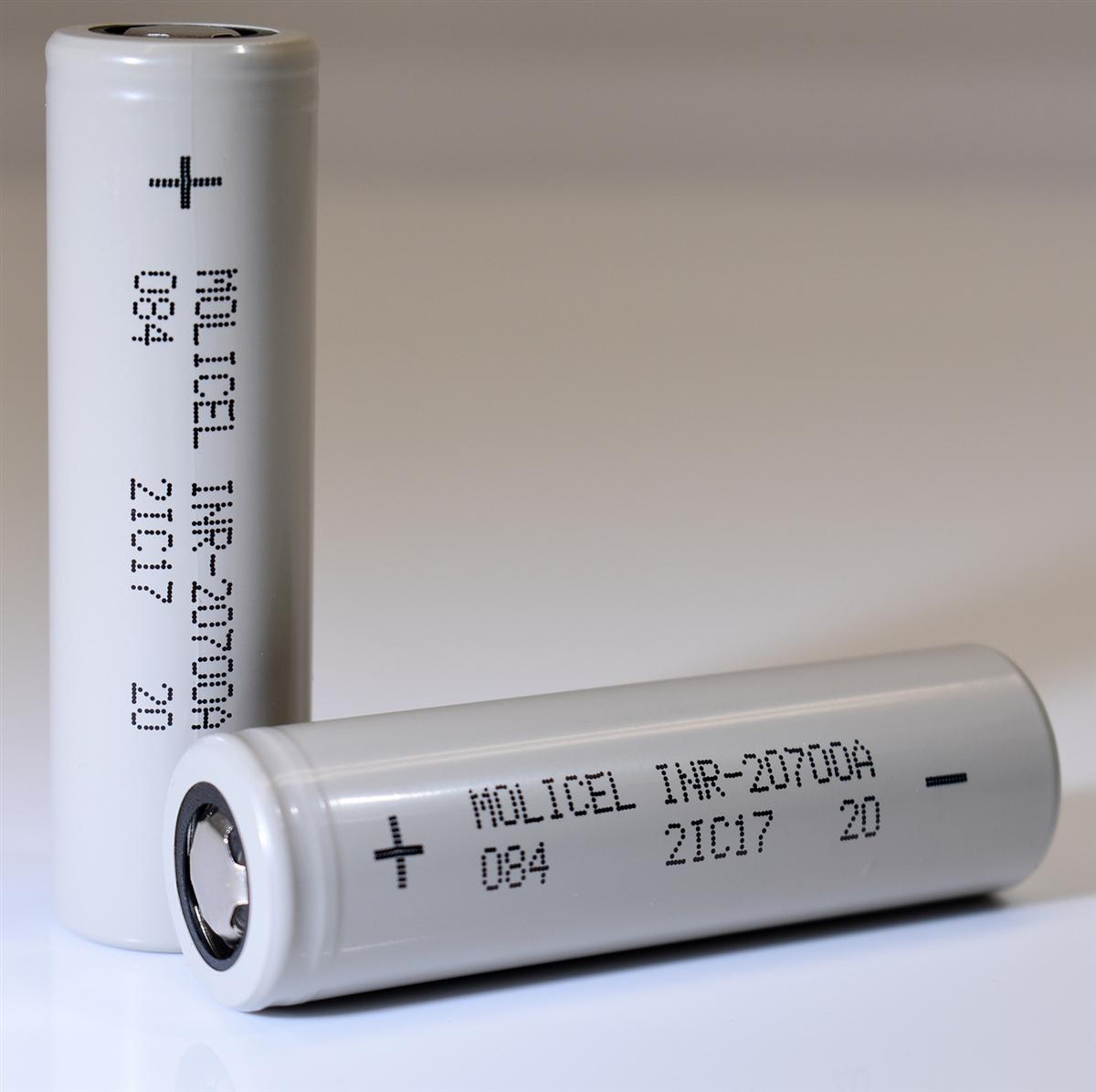 Molicel 20700 Battery