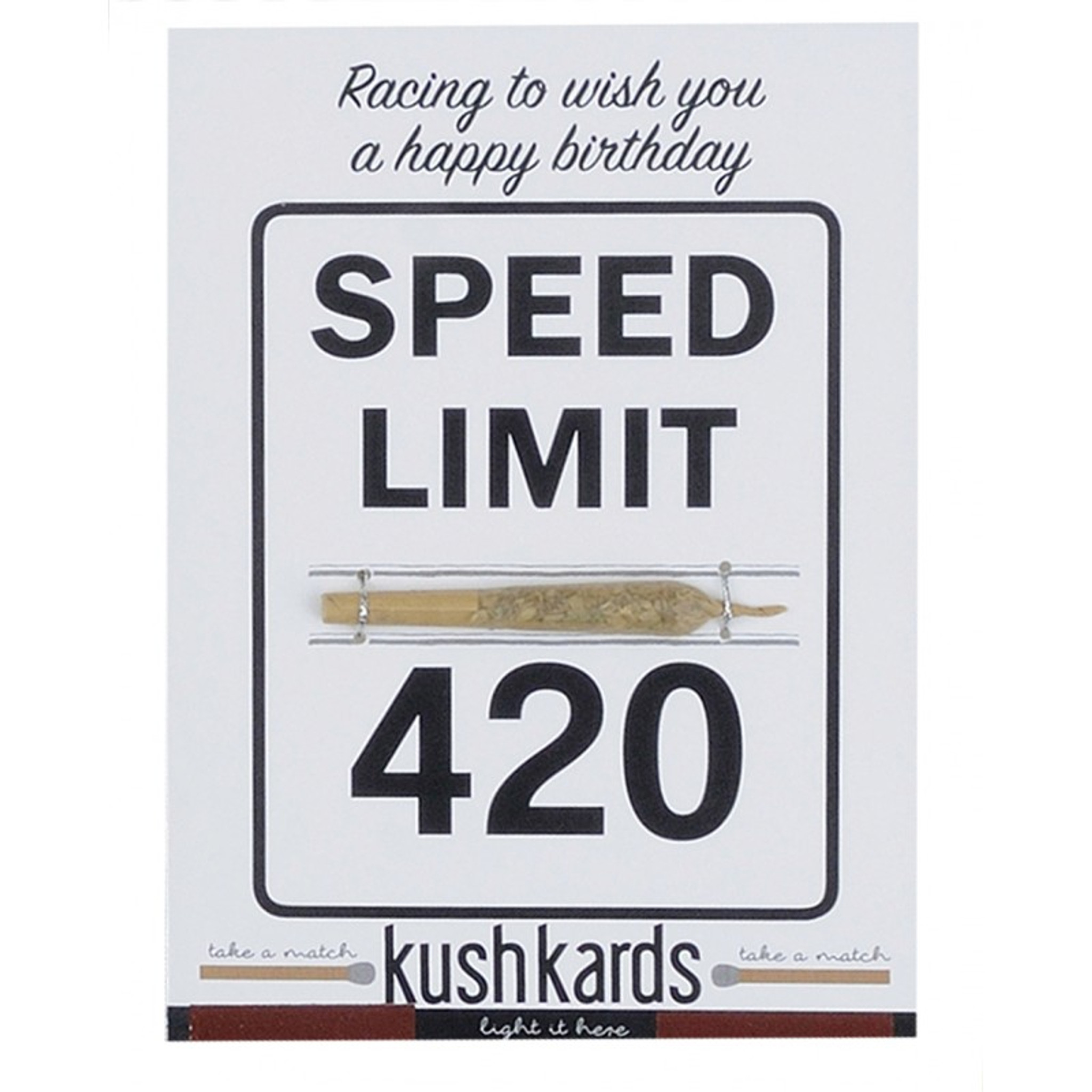 Magnificent 420 Birthday Pre Roll Card By Kushkards Humble Fume Funny Birthday Cards Online Fluifree Goldxyz