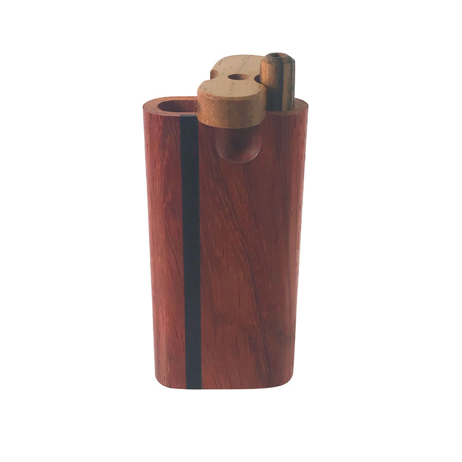 Vermillion Swivel Top Micro Box & Matching Taster Bat by The Mill