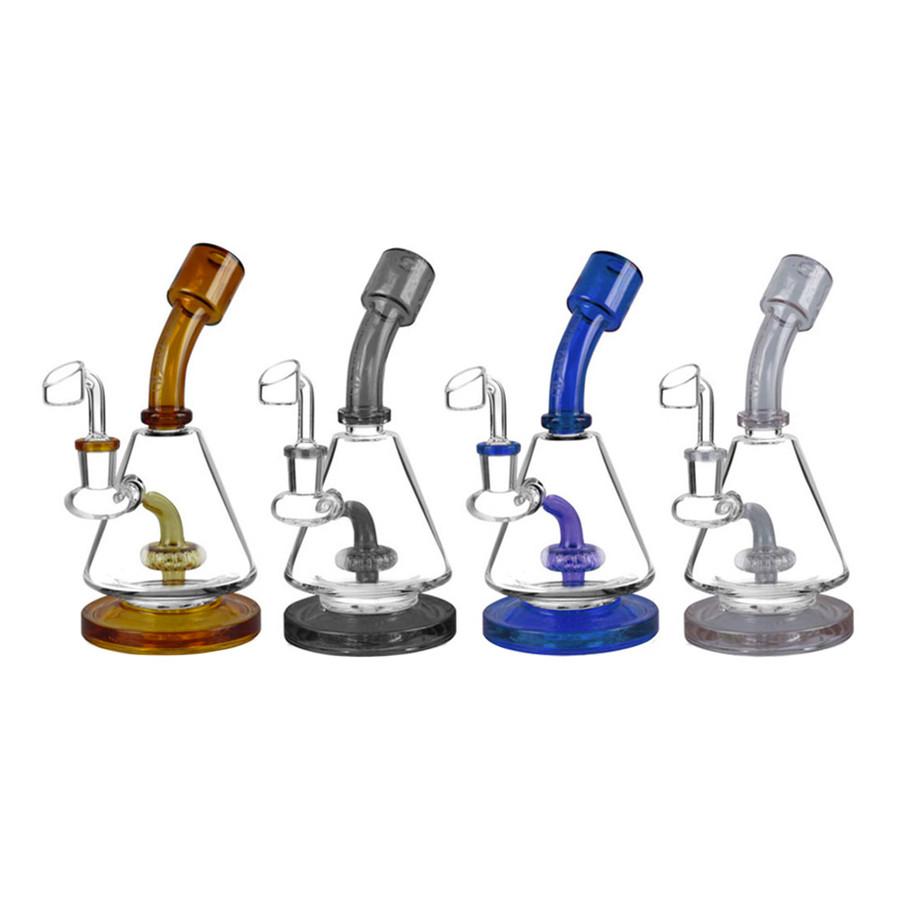 """8"""" Lab Flask Dab Rig by Pulsar"""