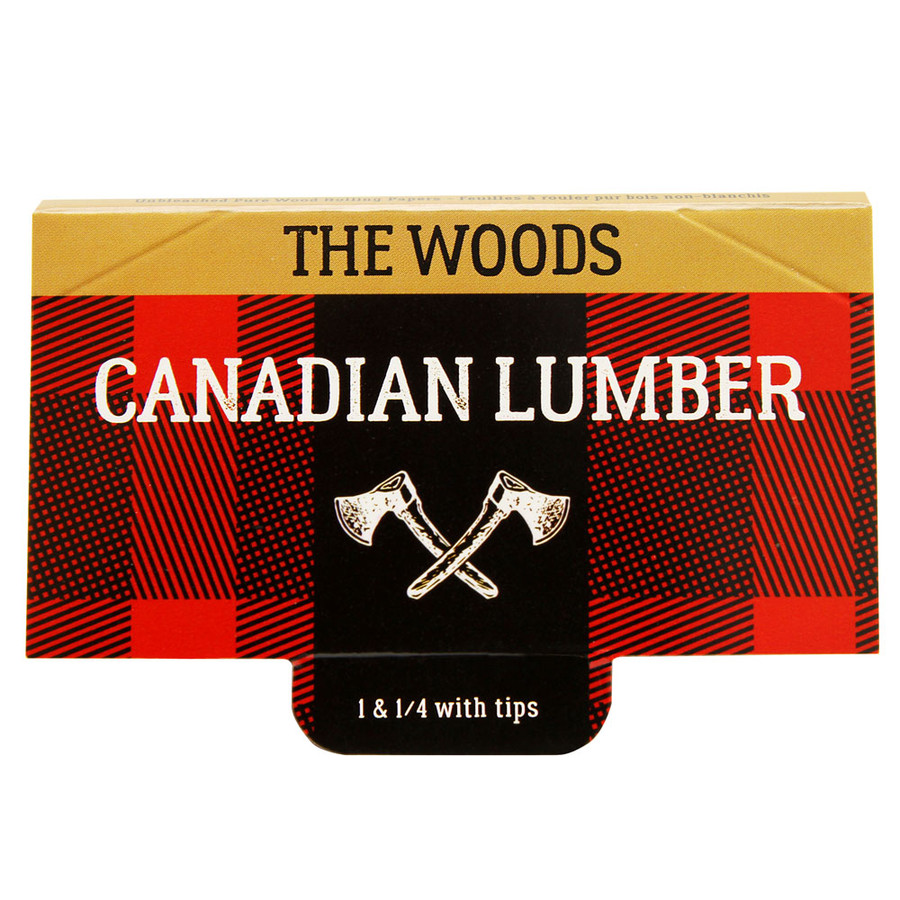 "Woods 1 1/4"" Rolling Papers by Canadian Lumber"