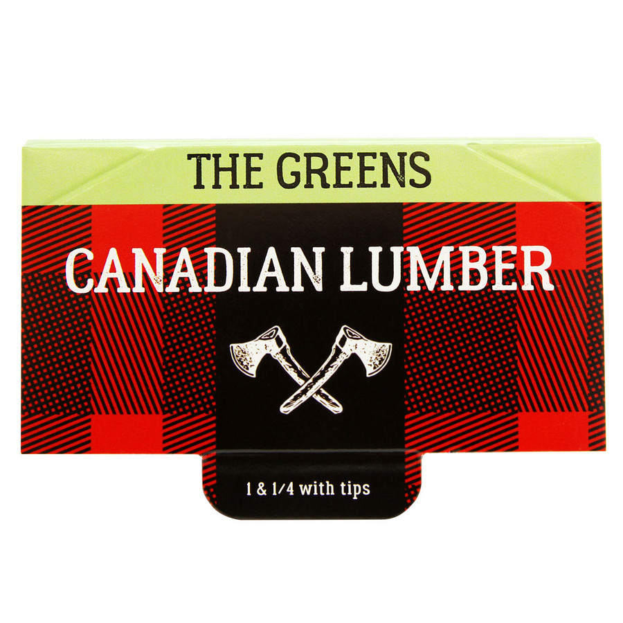 "Greens 1 1/4"" Rolling Papers by Canadian Lumber"