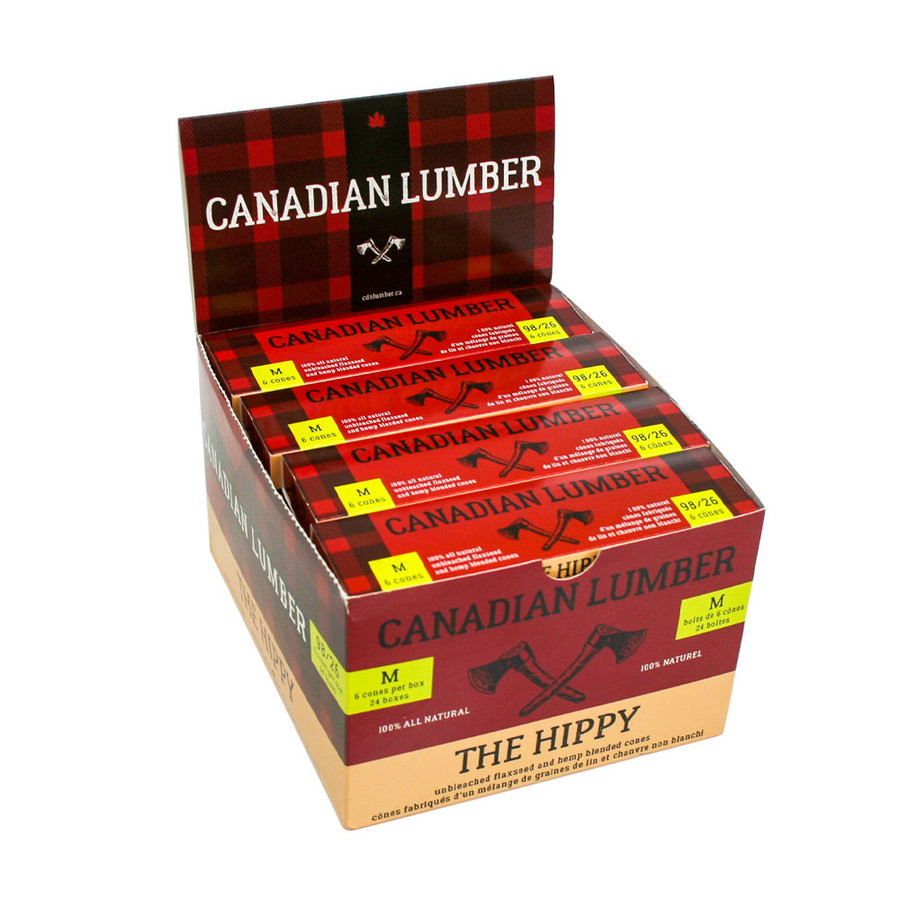 Canadian Lumber Hippy Cones Display