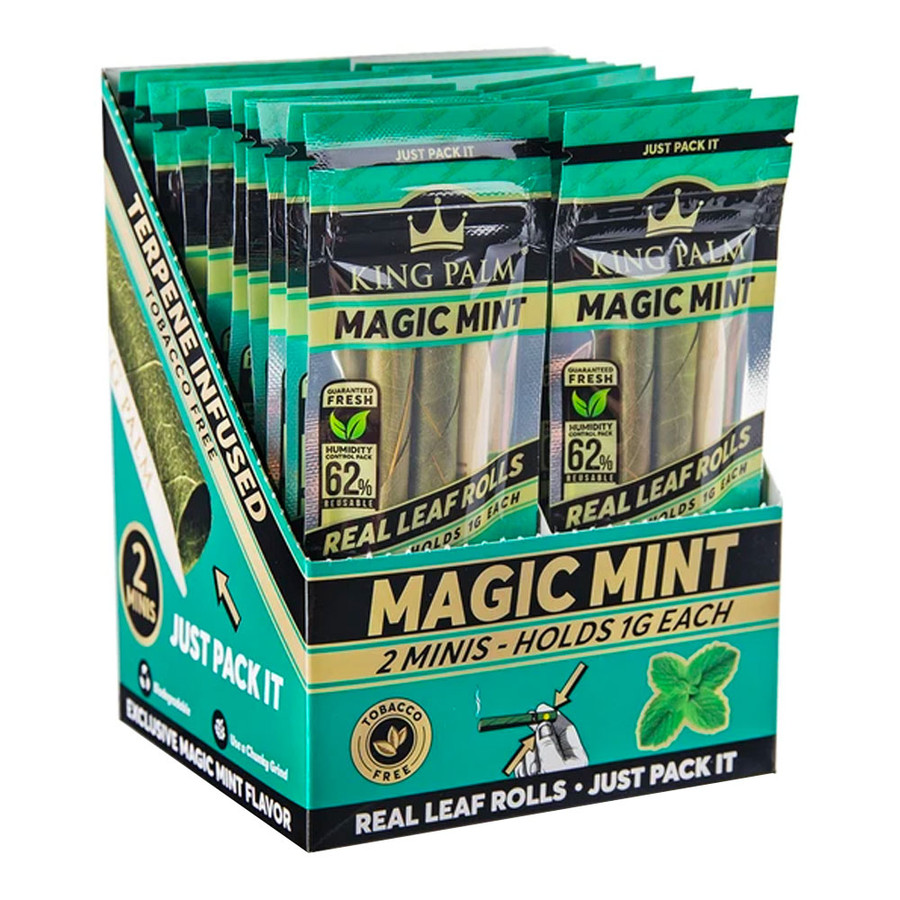 King Palm Magic Mint Terpenes Mini Pre-Rolls