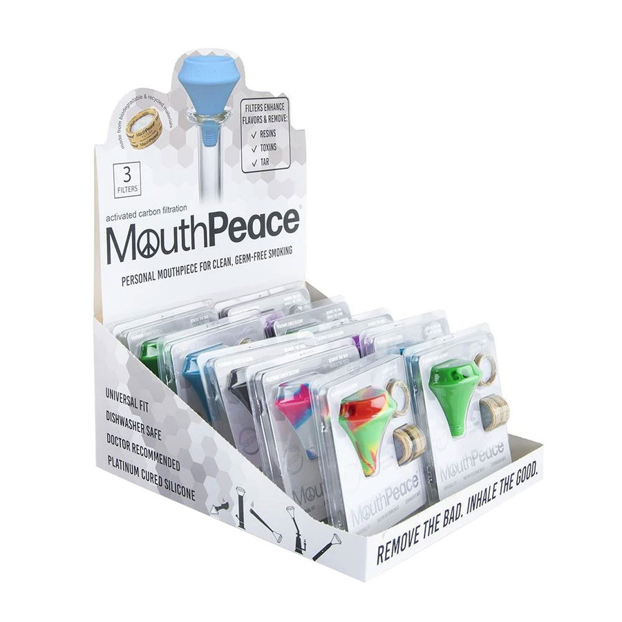 MouthPeace Full Kit Display by Moose Labs