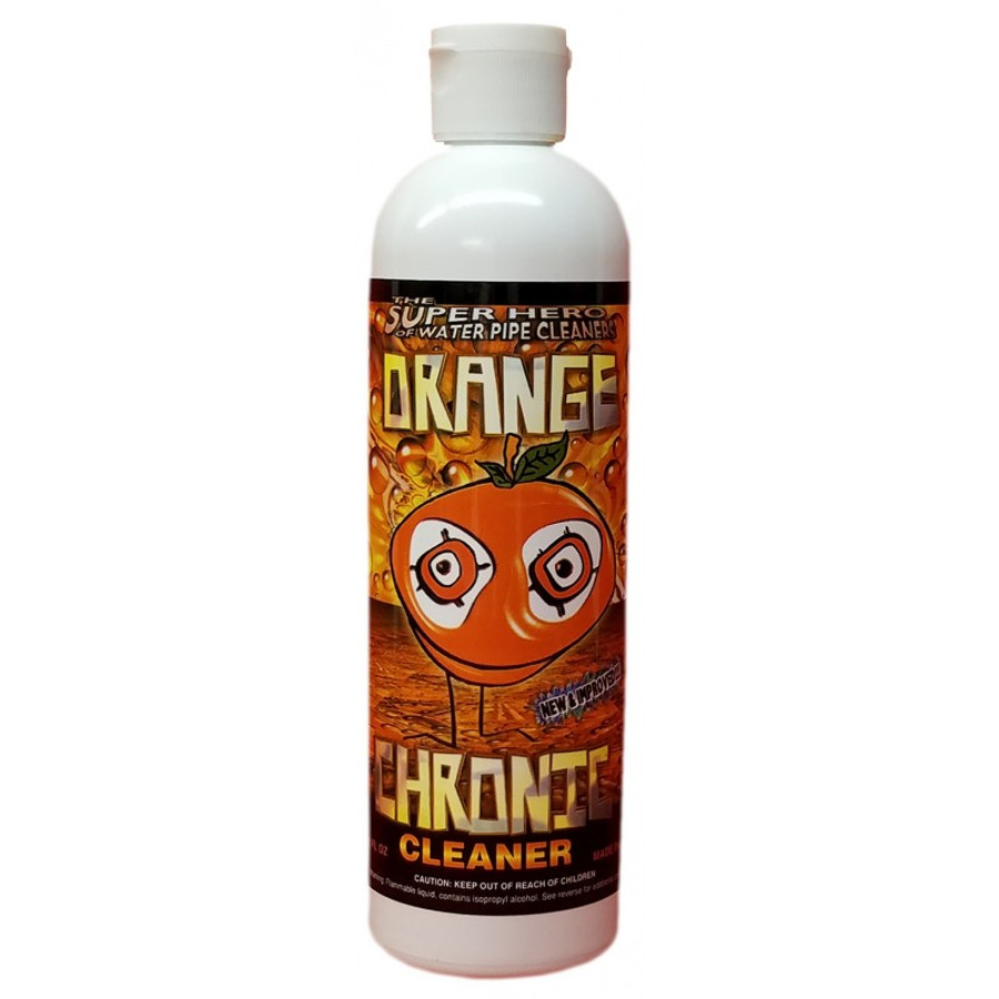 Orange Chronic Pipe Cleaner 12oz