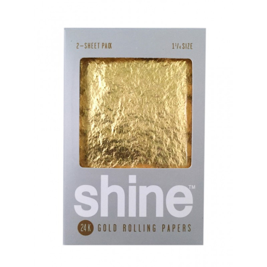 24k Gold Papers - 2 Sheet Packs by Shine Papers