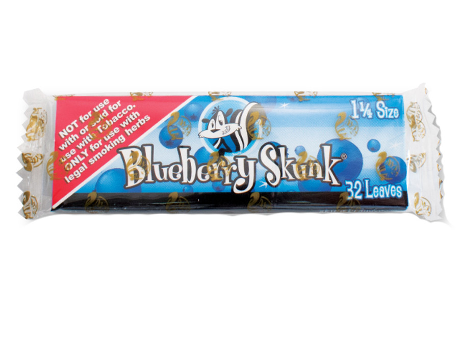 Skunk Blueberry Flavoured Papers 1 1/4""