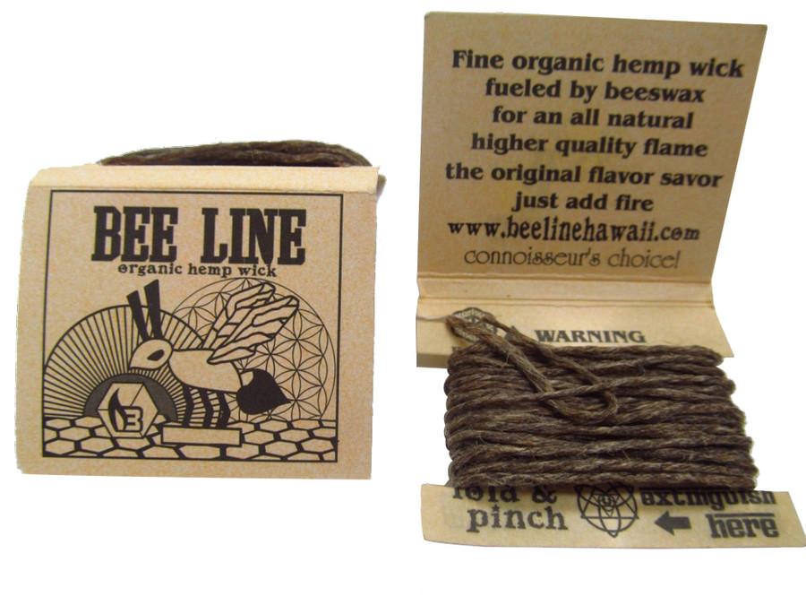 Thin Hemp Wick Display by Bee Line