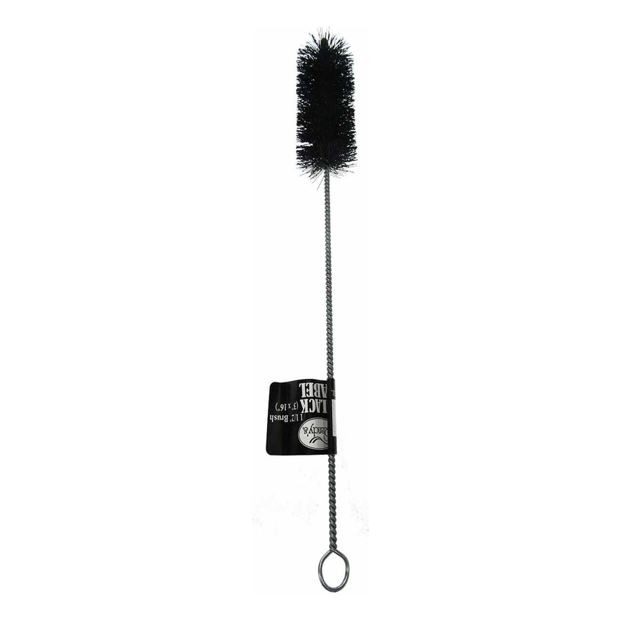 "1 1/2"" Black Nylon & Steel Cleaning Brush by Randy's"