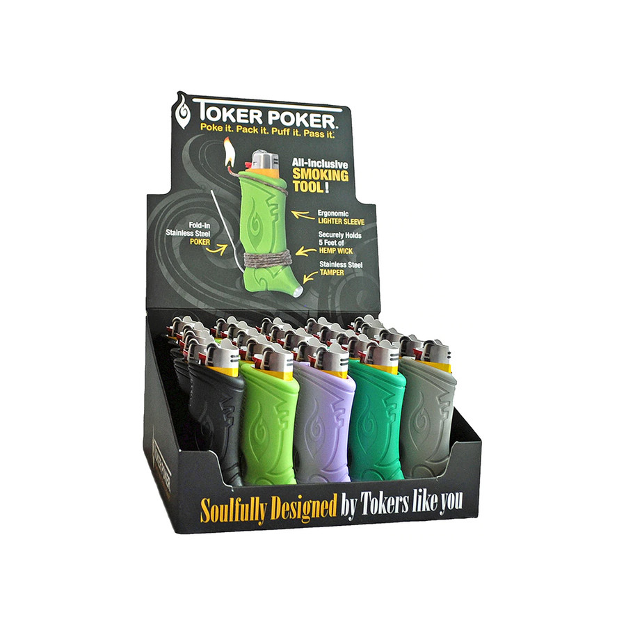 Assorted Colours Display by Toker Poker