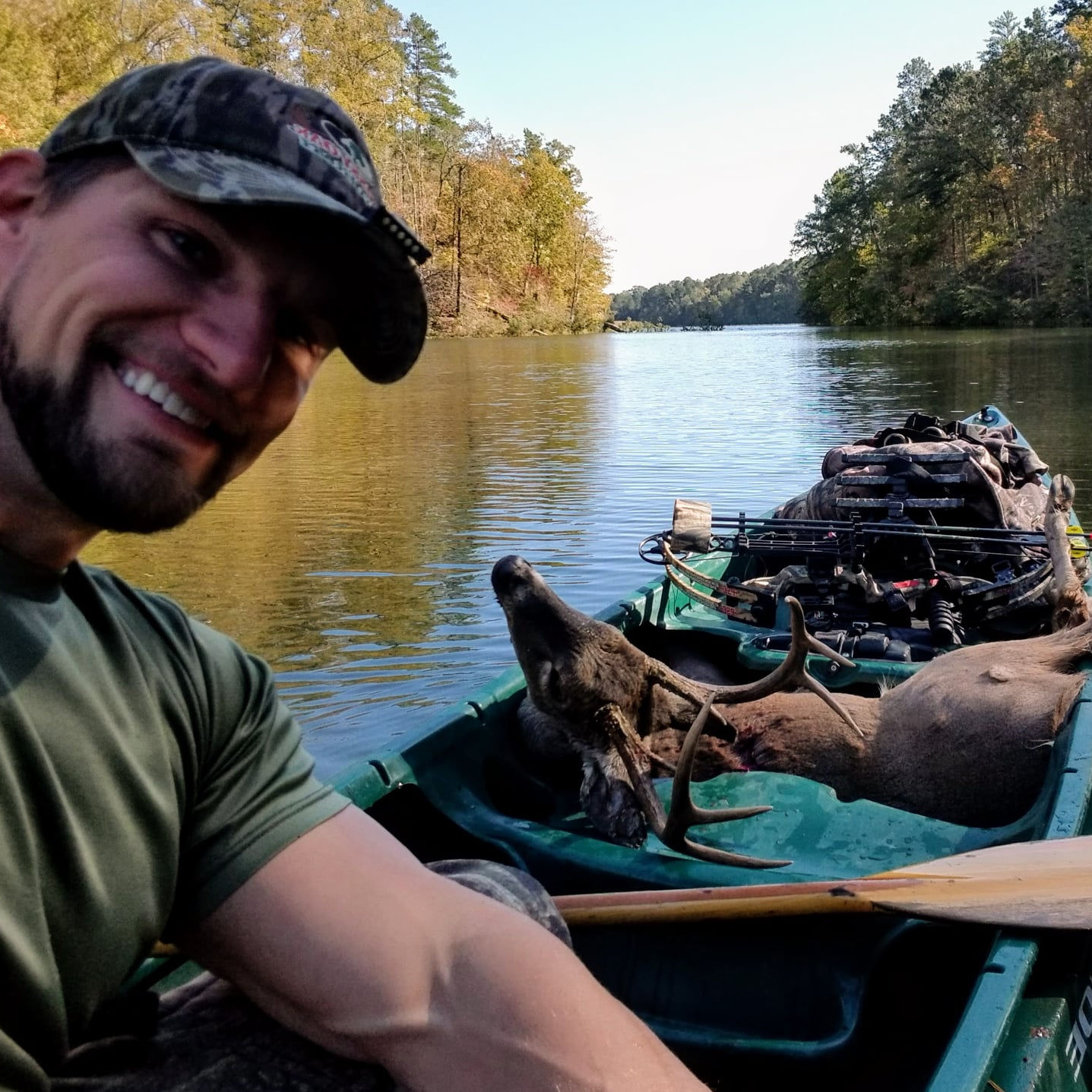 Saddle Hunting Whitetail Deer From Kayak