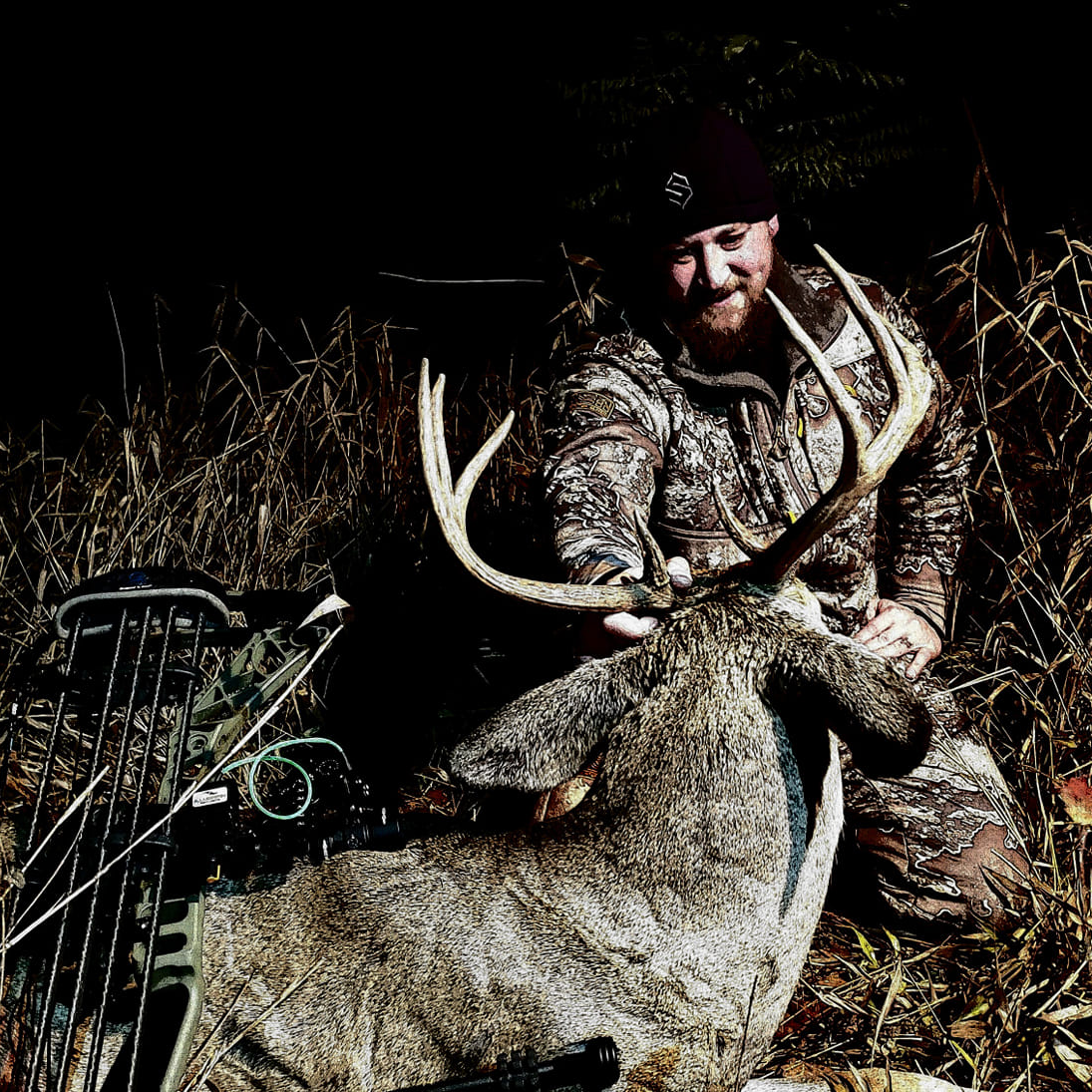 Wayne Stec With Nice Deer From JX3 Hybrid Hunting Saddle