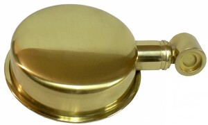 #1029 Natural Brass Rose (Head) Assembly  Will fit the following Model Brass Finish Wonder Showers: #1020 #7100 HH, #7150HH, #7300HH, #7350HH #1540  #150-200 Ultra Reach Double Wonder Shower Combo