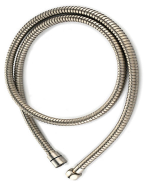 "Metal Flexi-hose 60"" Brushed Nickel Finish"
