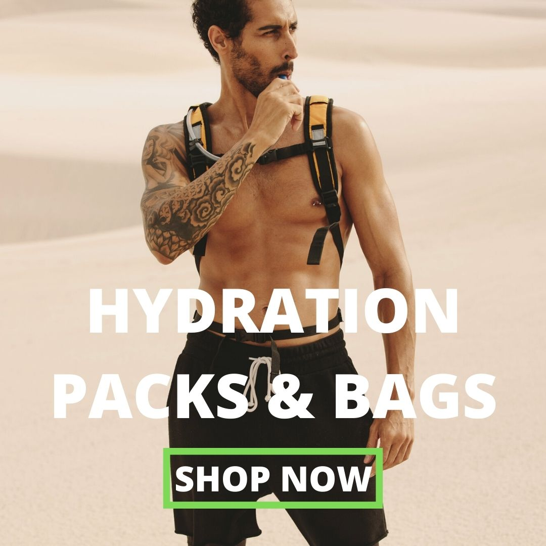 hydration pack and bag. Hydration backpack
