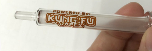 NEW PRODUCT!!!! 1ml Glass Syringe **POWERED BY KUNG FU VAPES
