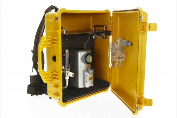 #8232 - Stinger BackPack Anesthetic Machine, 0 - 15 LPM Flowmeter