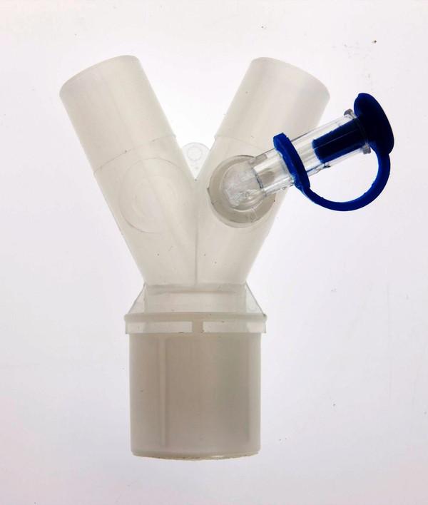 #2353 - Y-piece, with gas sampling port