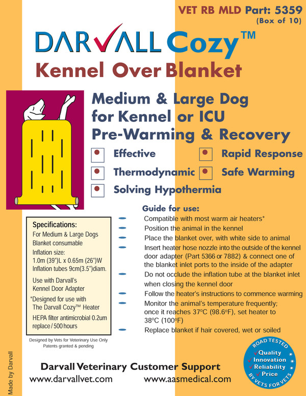 #5359 - Cozy Kennel Over Blanket - Large