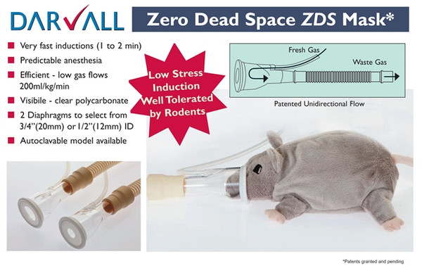 #5303 - ZDS Mask - Non-rebreathing Circuit - Autoclavable