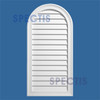 LCA1224 Urethane Louvre Closed Arched Top 12 x 24