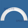 """AT1025-68 Arch Circle Top 5.5"""" Wide - Fits 68"""" Opening"""