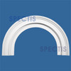 """AT1144-48 Arch Circle Top 5.5"""" Wide - Fits 48"""" Opening"""