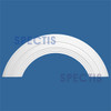 """AT1365-40 Arch Circle Top 10"""" Wide - Fits 40"""" Opening"""