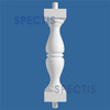 "BAL201329 Urethane Baluster or Spindle 7""W X 29""H"