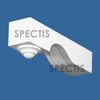 """BL2974 Spectis Eave Block or Bracket 2.75""""W x 12""""H x 3.75"""" Projection"""