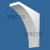 """BL2976 Spectis Eave Block or Bracket 3.5""""W x 11.25""""H x 11.25"""" Projection"""