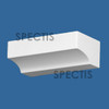 """BL2985 Spectis Eave Block or Bracket 6""""W x 3""""H x 2"""" Projection"""