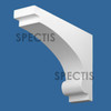 """BL2987 Spectis Eave Block or Bracket 3.13""""W x 9.25""""H x 13"""" Projection"""