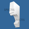"BL2989 Spectis Eave Block or Bracket 4""W x 20""H x 10"" Projection"