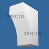 """BL2991 Spectis Eave Block or Bracket 8""""W x 12.5""""H x 17.63"""" Projection"""