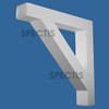 """BL3051 Spectis Eave Block or Bracket 6""""W x 36""""H x 36"""" Projection"""