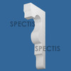 """BL3052 Spectis Eave Block or Bracket 2.5""""W x 17.75""""H x 7.88"""" Projection"""