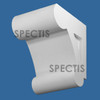 "BL3058 Spectis Eave Block or Bracket 7.5""W x 10.5""H x 8.75"" Projection"
