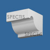 "BL3069 Spectis Eave Block or Bracket 4.5""W x 4.44""H x 3.5"" Projection"